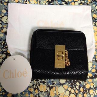 on sale f1478 ae9b4 【正規品】流行り!Chloe クロエ Drew ドリュー 折りたたみ財布 黒