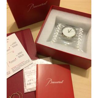 バカラ(Baccarat)のbaccara 置き時計(置時計)