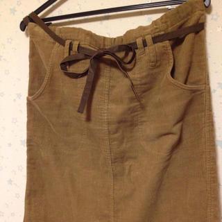 ツモリチサト(TSUMORI CHISATO)のツモリチサト コーデュロイスカート(ひざ丈スカート)