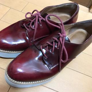 ジェフリーキャンベル(JEFFREY CAMPBELL)の早い者勝ち!ジェフリーキャンベル 革靴 赤(ローファー/革靴)