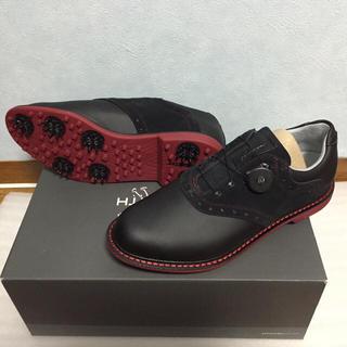 アディダス(adidas)のアシュワース キングストン ボア 25cm 新品 送料無料 ブラック 希少(シューズ)