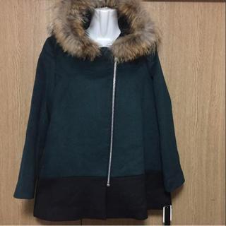 スコットクラブ(SCOT CLUB)のファー付きコート♡マイマイ様専用(毛皮/ファーコート)