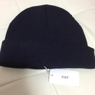 ケービーエフ(KBF)の新品 KBF ビーニーキャップ(ニット帽/ビーニー)
