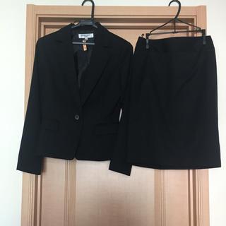 ナチュラルビューティーベーシック(NATURAL BEAUTY BASIC)の美品 NBB スーツ 上下セット スカート(スーツ)