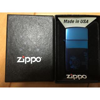 ジッポー(ZIPPO)の【Zippo】ブルー  期間限定セール中!!(タバコグッズ)