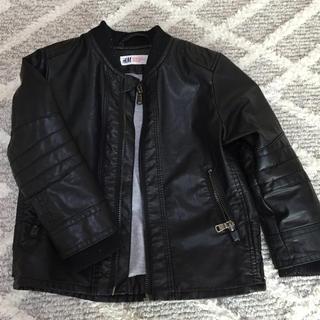 エイチアンドエム(H&M)のエフワン様専用 レザージャケット、デニムセット(ジャケット/上着)