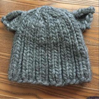ルシェルブルー(LE CIEL BLEU)のルシェルブルー 猫耳ニット帽(ニット帽/ビーニー)