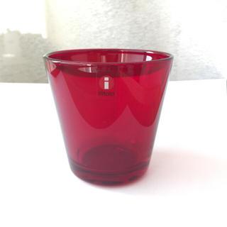 イッタラ(iittala)のイッタラ カルティオ レッド タンブラー(グラス/カップ)