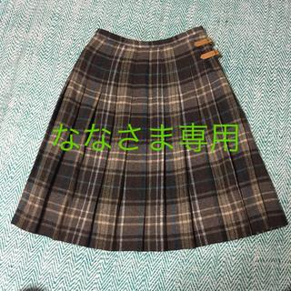 ドゥファミリー(DO!FAMILY)のDO!FAMILY LIMITEDウールチェックプリーツスカート(ひざ丈スカート)