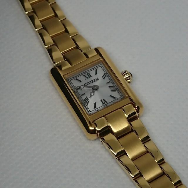 CITIZEN(シチズン)の◇値下げ中◇美品 シチズン  ソーラー CITIZEN Kii 腕時計 ゴールド レディースのファッション小物(腕時計)の商品写真