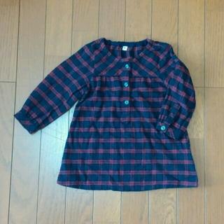 ムジルシリョウヒン(MUJI (無印良品))のチュニック 90(Tシャツ/カットソー)