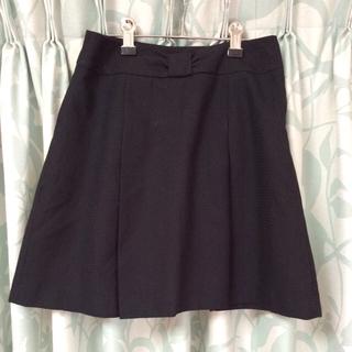プーラフリーム(pour la frime)のプーラフリーム♡黒スカート(ひざ丈スカート)