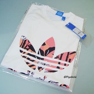 アディダス(adidas)のL【新品/即日発送OK】adidas オリジナルス Tシャツ ピンク(Tシャツ/カットソー(半袖/袖なし))
