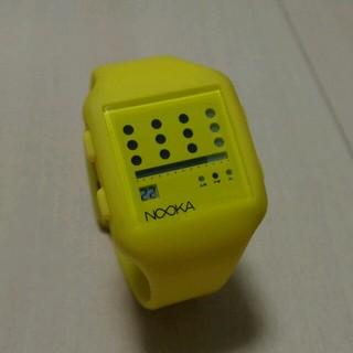 ヌーカ(NOOKA)のNOOKA ヌーカ 腕時計(腕時計(デジタル))