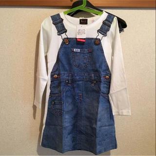 リー(Lee)のlee×stompstamp 長袖Tシャツ転写ワンピース 130(ワンピース)