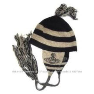 ヴィヴィアンウエストウッド(Vivienne Westwood)のhyde着 Vivienne Westwood ニット帽 VAMPS L'Arc(ニット帽/ビーニー)