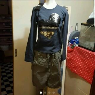 デシグアル(DESIGUAL)の新品リメイク第2弾 Desigual ワンピ → ロンT ➕レギンス(Tシャツ(長袖/七分))