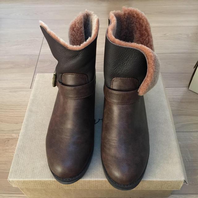 Ungrid(アングリッド)のUngrid ボアブーツ ブラウン レディースの靴/シューズ(ブーツ)の商品写真