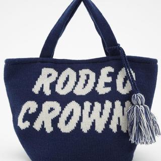 ロデオクラウンズワイドボウル(RODEO CROWNS WIDE BOWL)のRODEO CROWNS ロゴニットバック(ハンドバッグ)