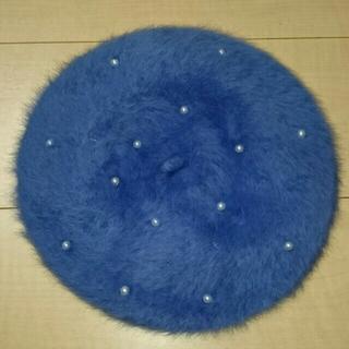 アースミュージックアンドエコロジー(earth music & ecology)のkarin様専用  ファーベレー帽(ハンチング/ベレー帽)
