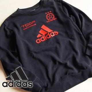 アディダス(adidas)の美品 150サイズ アディダス スウェット/トレーナー ブラック(ニット)