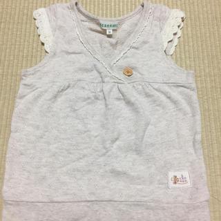 サンカンシオン(3can4on)のチュニックベスト(Tシャツ/カットソー)