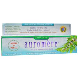 新品未開封 Auromere オーロメア 歯磨き粉 ハーブ(歯磨き粉)