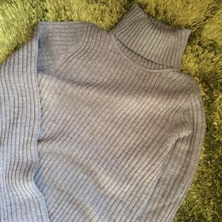 ムジルシリョウヒン(MUJI (無印良品))の洗えるタートルネック(ニット/セーター)