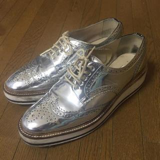 ザラ(ZARA)のZARA☆靴☆シューズ(ローファー/革靴)