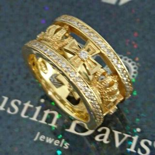 ジャスティンデイビス(Justin Davis)のジャスティンデイビス K18YG 20.5号 ウエディングバンドリング 超高級(リング(指輪))