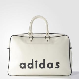 アディダス(adidas)の【新品・即納OK】adidas オリジナルス ボストンバッグ 白 ビンテージ(ボストンバッグ)