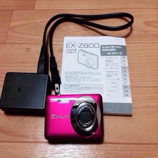 カシオ(CASIO)のデジカメ📷EXILIM EX-Z800(その他)