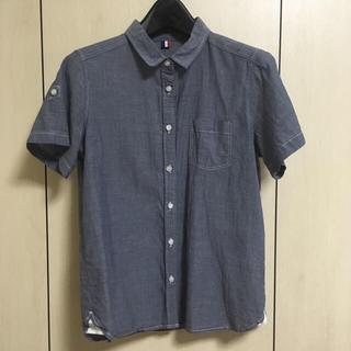 ジーユー(GU)のgu シャツ二枚組(シャツ/ブラウス(半袖/袖なし))