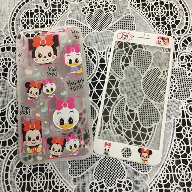 iphone7 ケース ツモリチサト | iphoneケース&保護シールセットの通販 by ちゃま's  shop|ラクマ