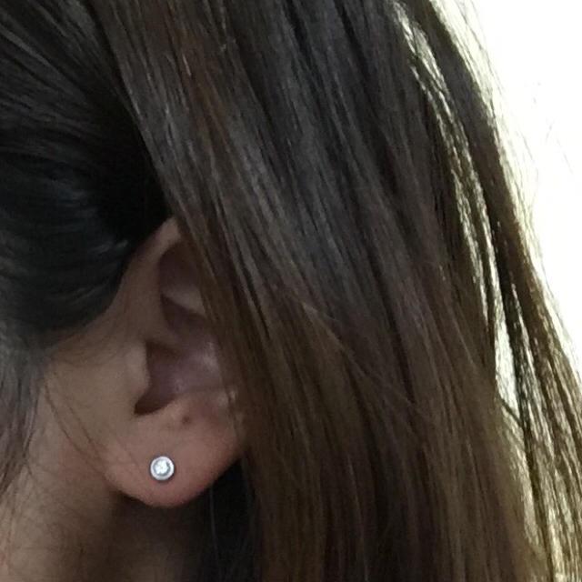 buy popular f8a4e 0bd58 ティファニー バイザヤード ピアス ダイヤ 片耳