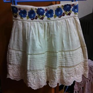 デイシー(deicy)のDeicy刺繍レーススカート(ミニスカート)