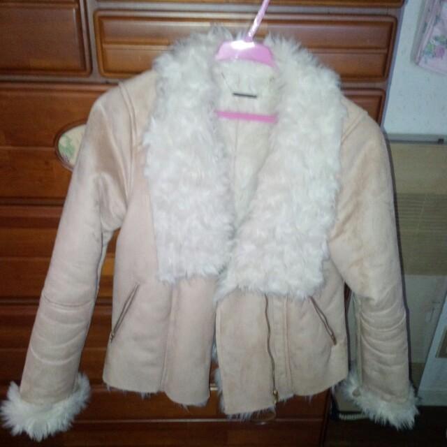dazzlin(ダズリン)のダズリン フェイクムートンジャケット レディースのジャケット/アウター(ライダースジャケット)の商品写真