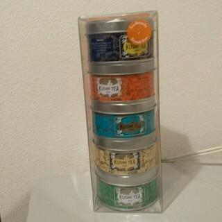 クリプトン(KRYPTON)の❤KUSMI TEA❤5缶セット❤フランス、Paris❤新品未使用品(茶)