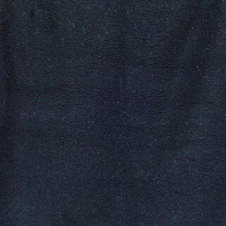 ジーユー(GU)のGU/ジーユー/キルティングスウェット地ミニワンピ/S/黒/ブラック  (ミニワンピース)