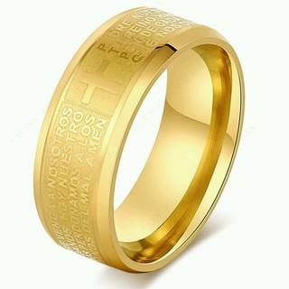 ❤300円アクセ❗❗プレゼントにも❗❗クロスリング⭐チェーンネックレス付き❗(リング(指輪))