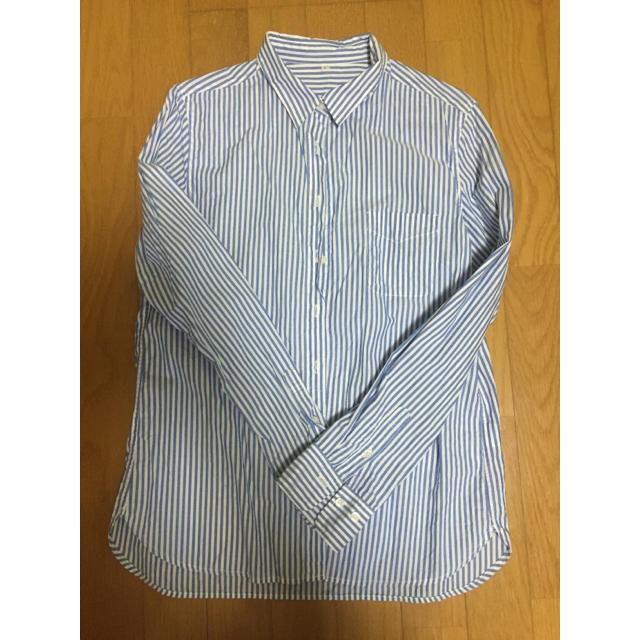 MUJI (無印良品)(ムジルシリョウヒン)の無印 ストライプシャツ レディースのトップス(シャツ/ブラウス(長袖/七分))の商品写真