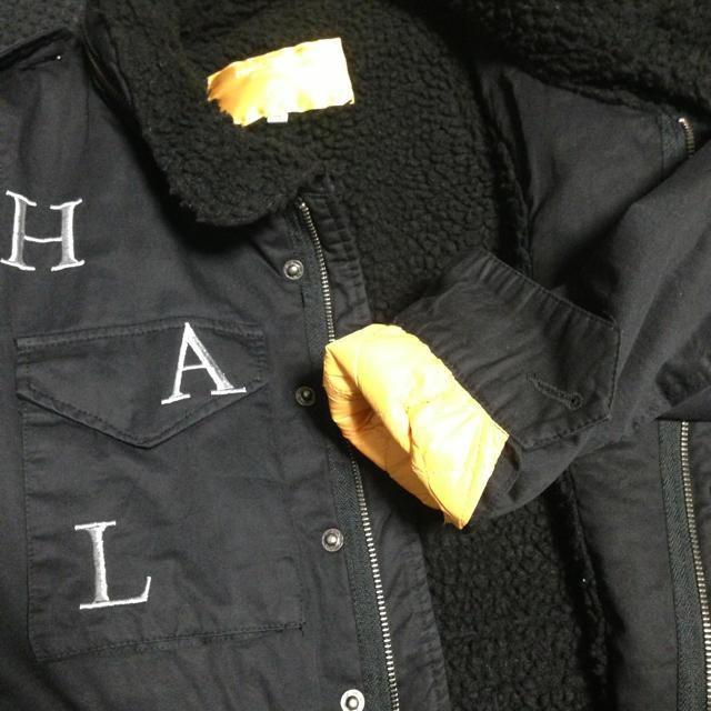 HALFMAN(ハーフマン)のHALF MAN アウター レディースのジャケット/アウター(ミリタリージャケット)の商品写真