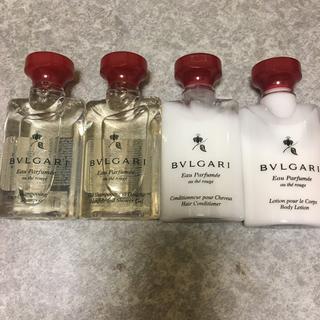 ブルガリ(BVLGARI)の計8個 ブルガリ ボディウォッシュ シャンプー コンディショナー(ボディソープ / 石鹸)