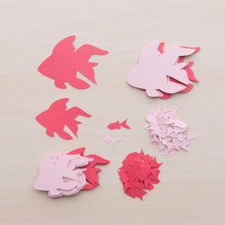 コメントカード「金魚」2色セット(A)(カード/レター/ラッピング)