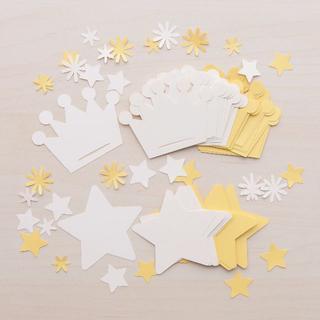 コメントカード「星と王冠」2色セット(カード/レター/ラッピング)