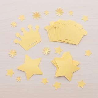 コメントカード「星と王冠セット」(カード/レター/ラッピング)