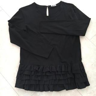 ミュウミュウ(miumiu)のミュウミュウ フリルTシャツ(Tシャツ(長袖/七分))