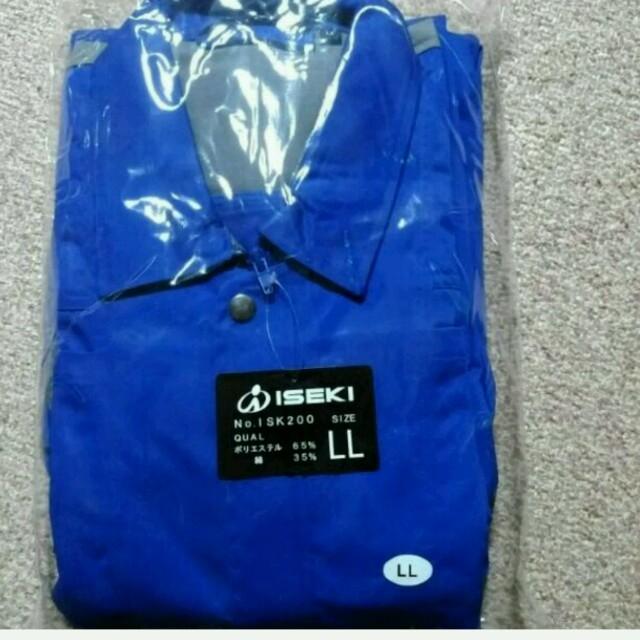 新品未使用!!ISEKI つなぎ メンズのパンツ(サロペット/オーバーオール)の商品写真
