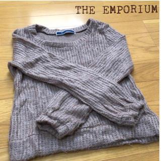 ジエンポリアム(THE EMPORIUM)のTHE EMPORIUM  ♡ 柔らかニットセーター(ニット/セーター)