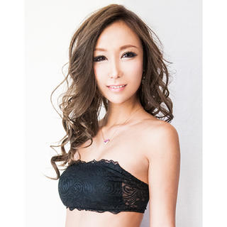 Dalilaのbra top☆黒★A〜Fcup☆送料込(ブラ)